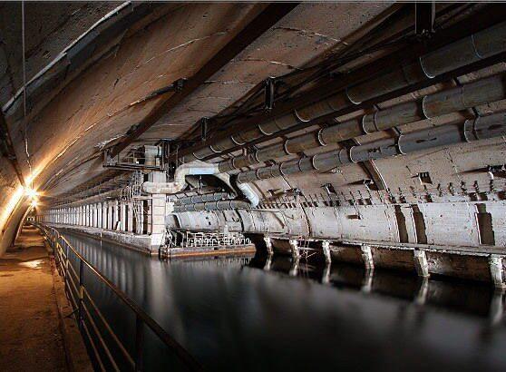 балаклавская бухта база подводных лодок видео
